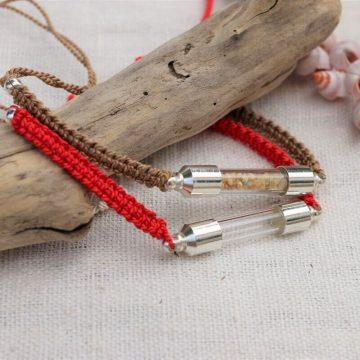 bracelet souvenir perle verre